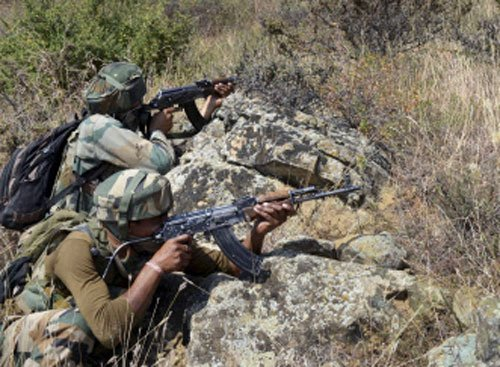 Pak violates ceasefire, India says peace must for talks