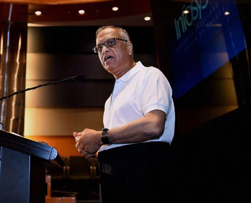Murthy credits prodigal son for smart moves by Infosys