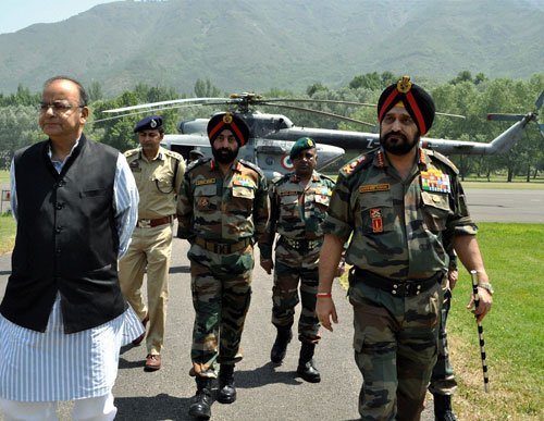 Army can reply to any Pak ceasefire violation, says Jaitley