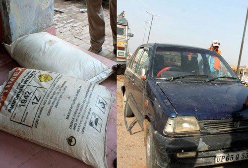 Huge haul of explosives in Varanasi