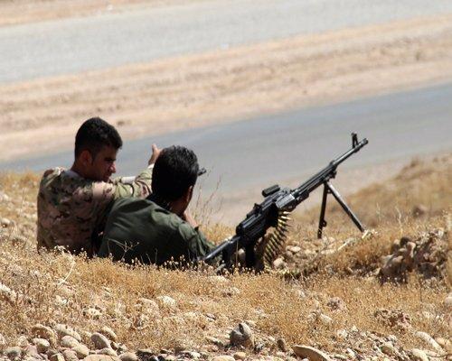 Kurdish forces control Iraq-Syria border crossing