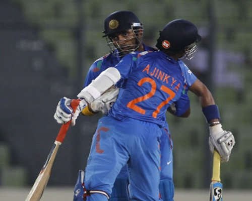 India cruise to seven-wicket win in first ODI