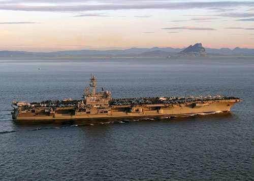 US moves warships into Gulf