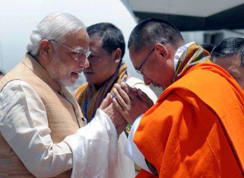 In Bhutan, Modi bats for better 'B4B' ties