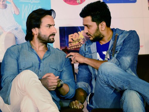 Nothing wrong with sex comedy, I am okay to do it: Saif