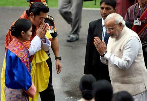 China says not perturbed by growing India, Bhutan ties