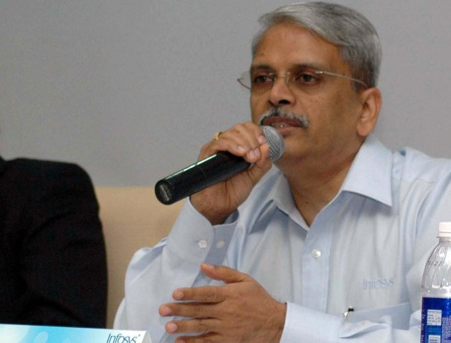 Major events in my life linked to milestones at Infosys: Kris