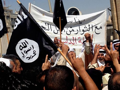 Sunni militants capture Iraqi city near Syria