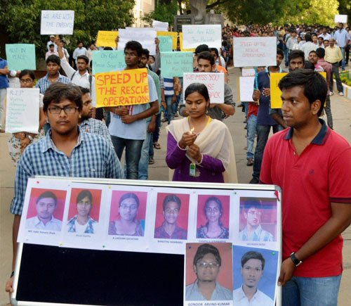 Hyderabad college haunted by past accidents
