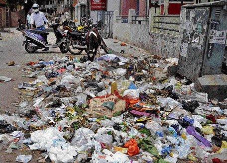 Mandur effect: Trash piles up on City roads