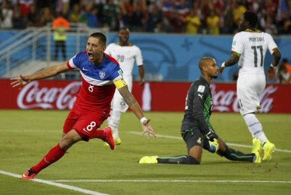 US emerges bloodied and victorious against Ghana