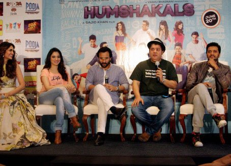 Bipasha absent from 'Humshakals' promotions, Sajid clueless