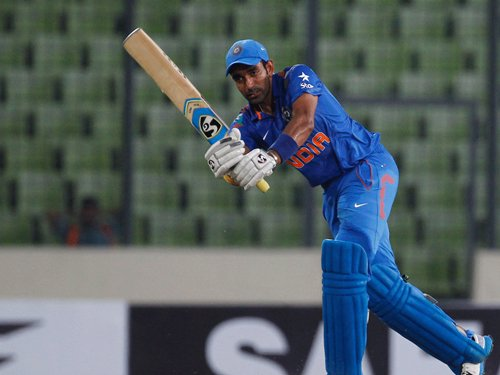 India-Bangladesh 2nd ODI reduced to 41 overs-a-side