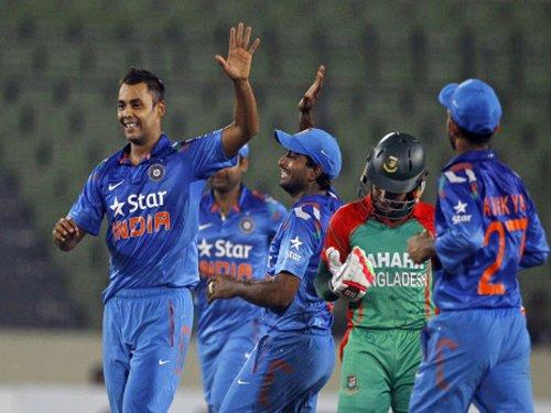 India beat Bangladesh by 47 runs in 2nd ODI, clinch series
