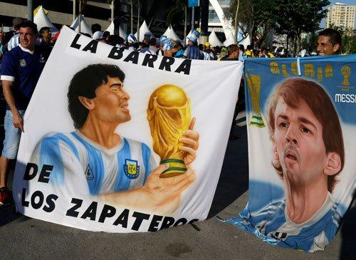 Maradona denied entry to Argentina match