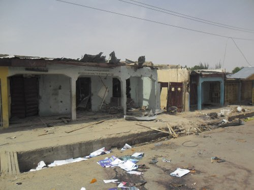 14 dead in bombing of WCup view site in Nigeria