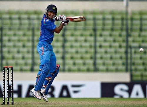Rain halts India-Bangladesh ODI again