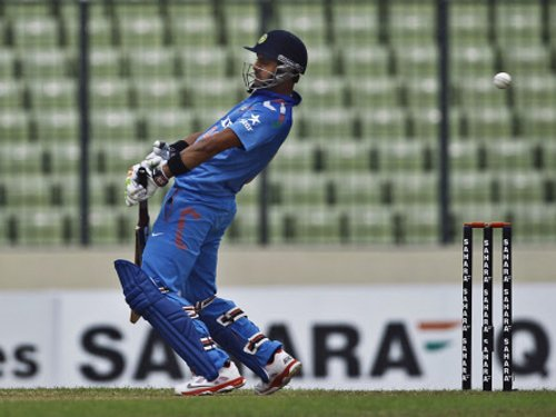 Third ODI reduced to 40 overs a side due to rain