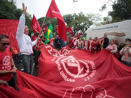 Thousands protest against World Cup in Sao Paulo