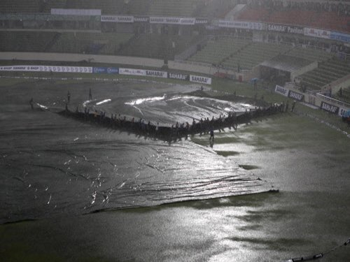 Rain washes out 3rd Ind-Ban ODI, India pocket series 2-0