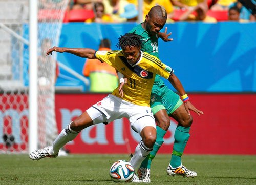 Colombia beat Ivory Coast 2-1 in a gripping World Cup match