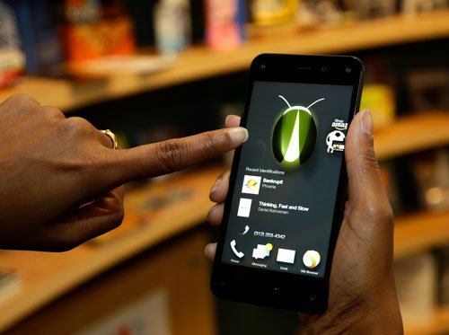 Amazon enters smartphone war with 3D phone
