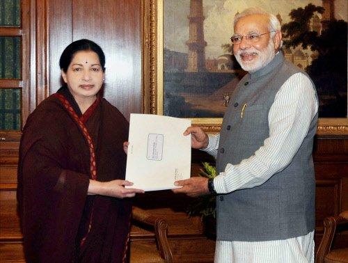 Ensure that English is used on social media: Jaya to Modi