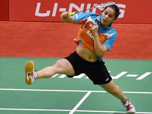 Saina crashes out of Indonesia Open Super Series