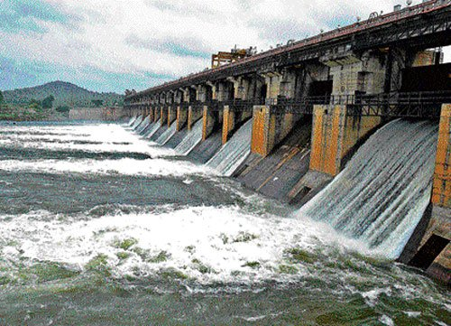Water released from brimming Tunga dam