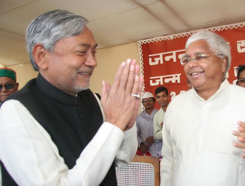 Arch rivals Lalu, Nitish call a truce