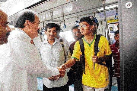 Metro Phase-I by Sept 2015: Naidu