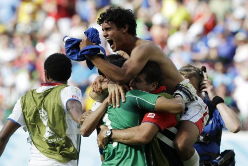 Costa Rica stun Italy to oust England; crushing win for France