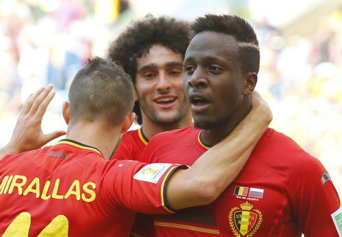 Belgium beat Russia by a late strike to enter Round of 16