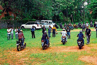 Bikers' day out in Port City