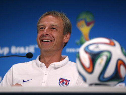 No deal with Germany, says US coach Klinsmann