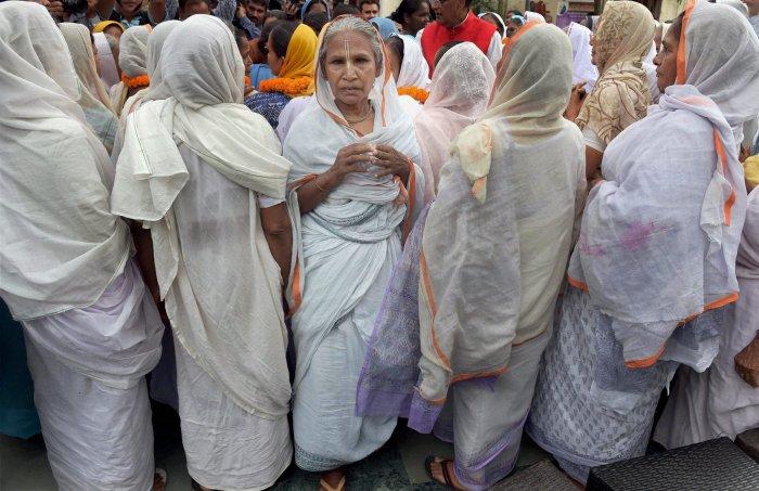 Vrindavan widows seek law for their welfare