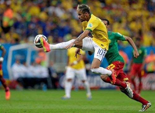 Neymar leads World Cup goal scorers list