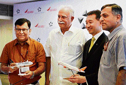 Air India inducted into Star Alliance