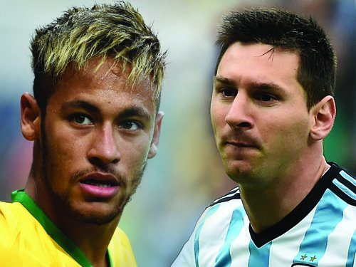 Messi, Neymar top goal scorers with four each