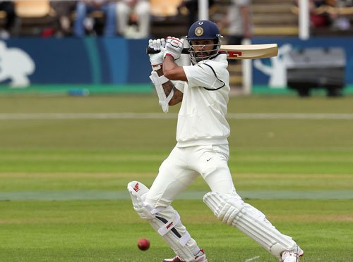 Second day's play between India and Leicestershire washed out