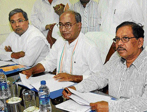 Second-rung Congress leaders demand their share of power