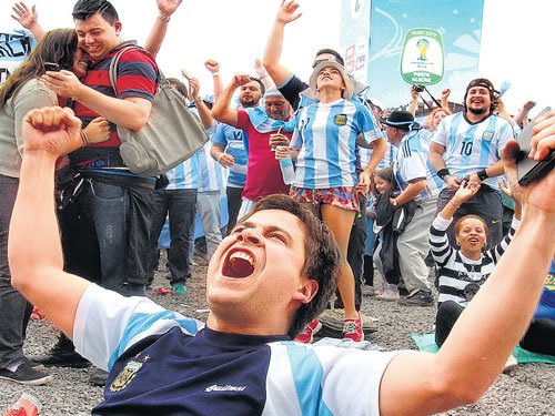 Brazil get ready for Argentine rush