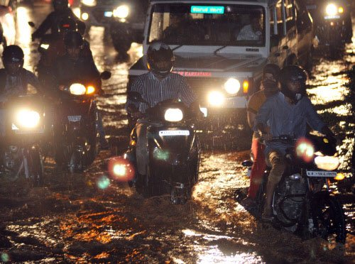 Rains in City after 8 days