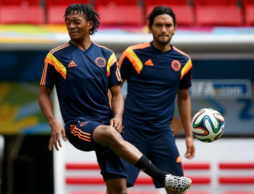 Colombia relishing the prospect of playing Brazil