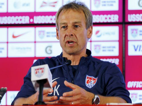 Klinsmann asks US players' families to postpone return