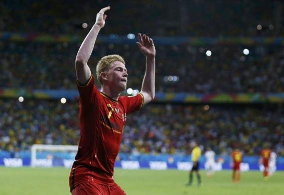 Belgium strike in extra time to sink U.S.