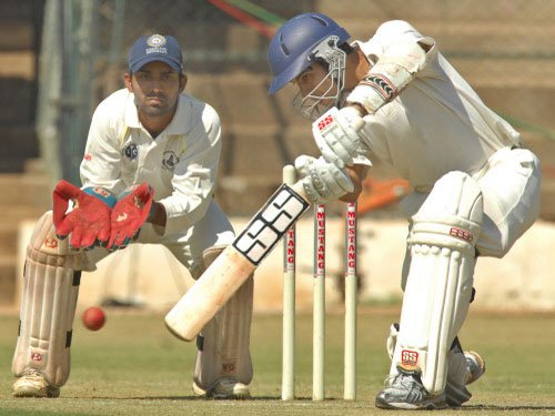 Ojha double ton puts India 'A' in command