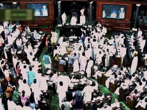 Bill on Polavaram project passed in LS amid protests