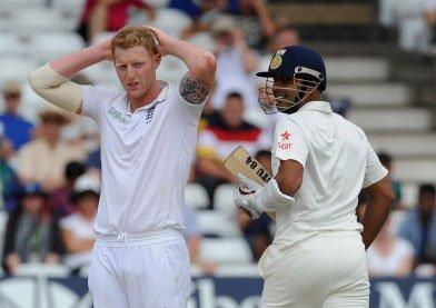 Stuart Binny saves India, scores 78