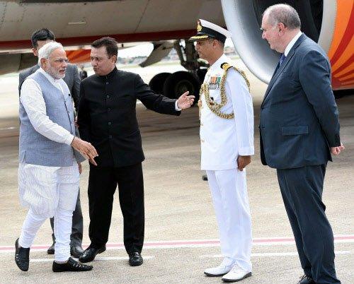 PM arrives in Brazil to attend BRICS Summit